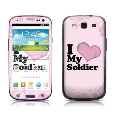 Samsung Galaxy S III Skin - I Love My Soldier