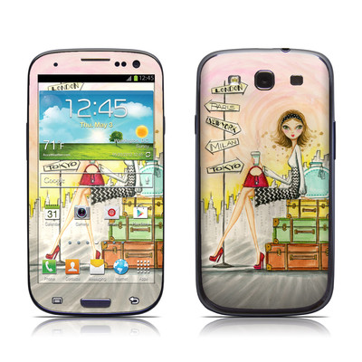 Samsung Galaxy S III Skin - The Jet Setter