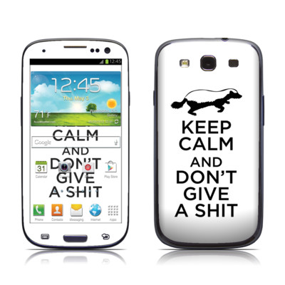 Samsung Galaxy S III Skin - Keep Calm - HB