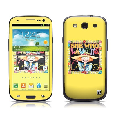 Samsung Galaxy S III Skin - She Who Laughs