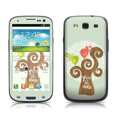 Samsung Galaxy S III Skin - Two Little Birds