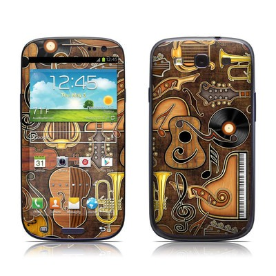 Samsung Galaxy S III Skin - Music Elements