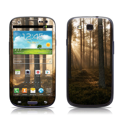 Samsung Galaxy S III Skin - Misty Trail