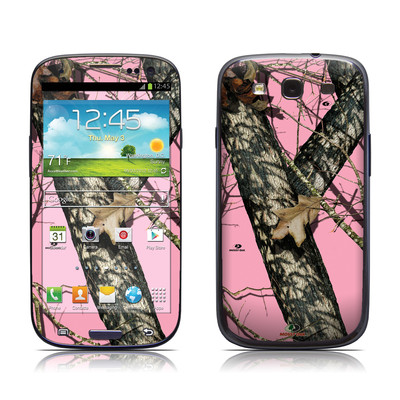 Samsung Galaxy S III Skin - Break-Up Pink