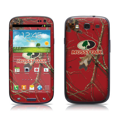 Samsung Galaxy S III Skin - Break-Up Lifestyles Red Oak