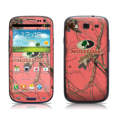 Samsung Galaxy S III Skin - Break-Up Lifestyles Salmon