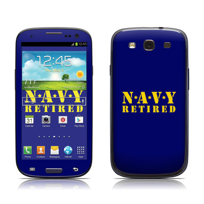 Samsung Galaxy S III Skin - Navy Retired