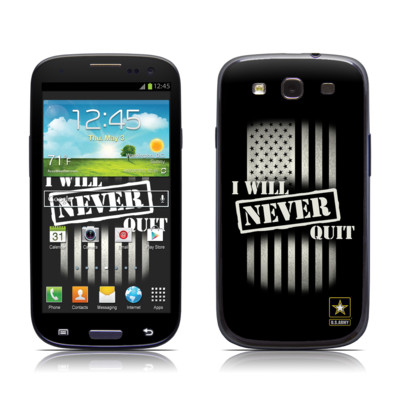 Samsung Galaxy S III Skin - Never Quit