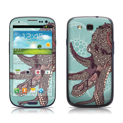 Samsung Galaxy S III Skin - Octopus Bloom