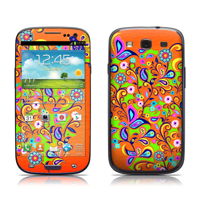 Samsung Galaxy S III Skin - Orange Squirt