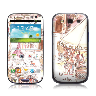 Samsung Galaxy S III Skin - Paris Makes Me Happy