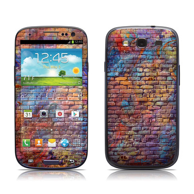 Samsung Galaxy S III Skin - Painted Brick