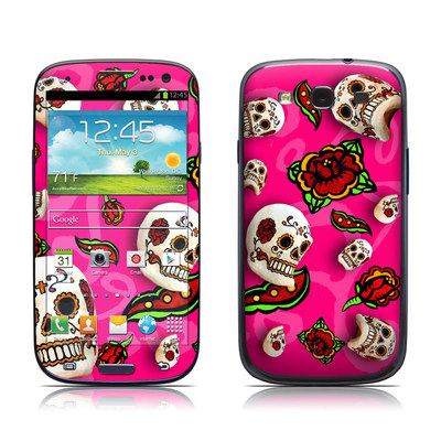 Samsung Galaxy S III Skin - Pink Scatter