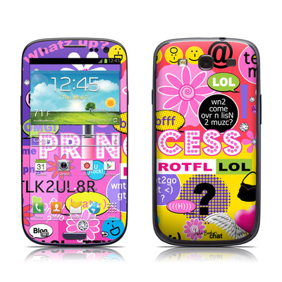 Samsung Galaxy S III Skin - Princess Text Me