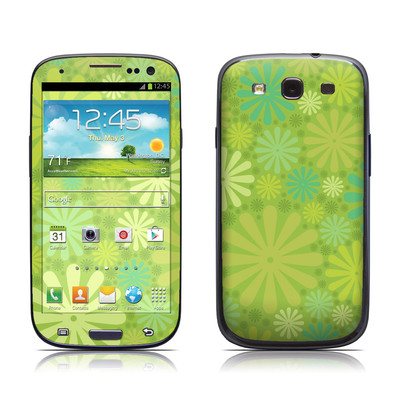 Samsung Galaxy S III Skin - Lime Punch