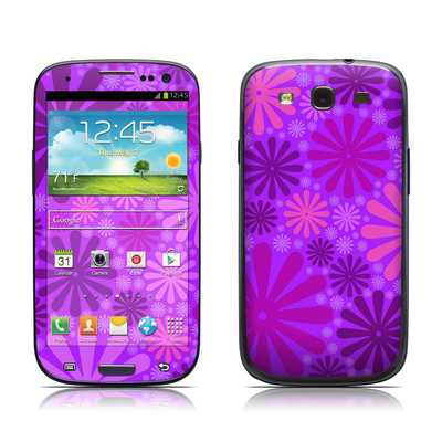 Samsung Galaxy S III Skin - Purple Punch