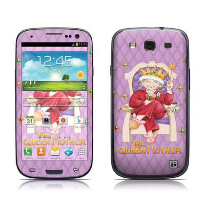 Samsung Galaxy S III Skin - Queen Mother