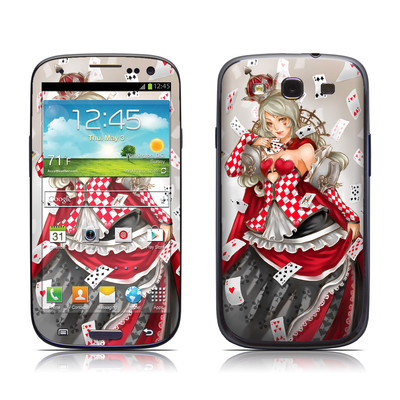 Samsung Galaxy S III Skin - Queen Of Cards