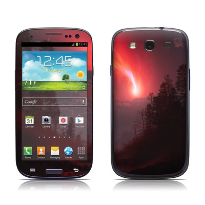 Samsung Galaxy S III Skin - Red Harbinger