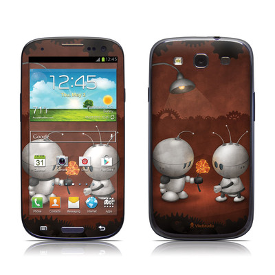 Samsung Galaxy S III Skin - Robots In Love