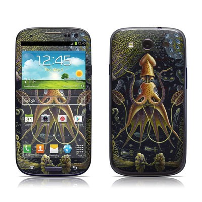 Samsung Galaxy S III Skin - Sea Flowers