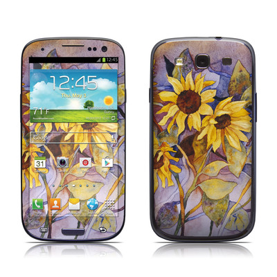 Samsung Galaxy S III Skin - Sunflower