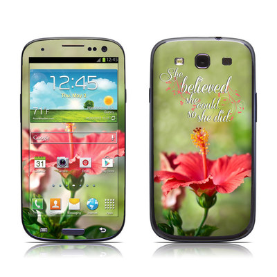 Samsung Galaxy S III Skin - She Believed