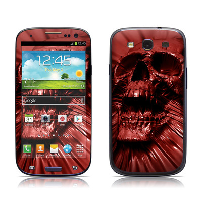 Samsung Galaxy S III Skin - Skull Blood