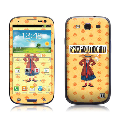 Samsung Galaxy S III Skin - Snap Out Of It