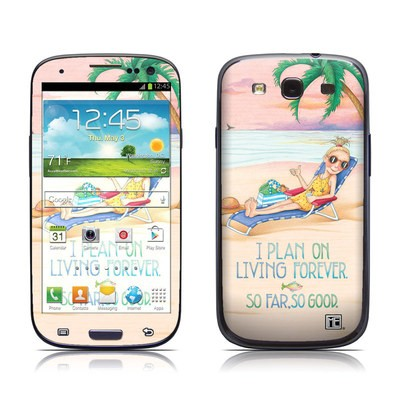 Samsung Galaxy S III Skin - So Far So Good