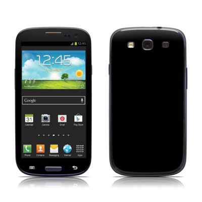 Samsung Galaxy S III Skin - Solid State Black