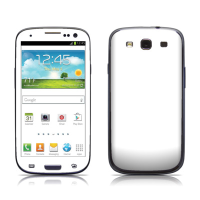 Samsung Galaxy S III Skin - Solid State White