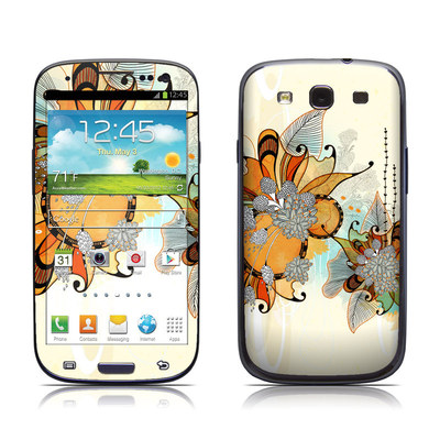 Samsung Galaxy S III Skin - Sunset Flowers