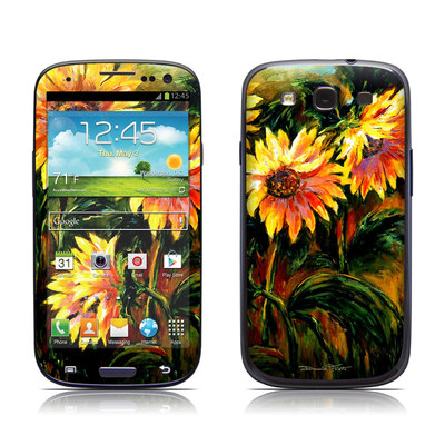 Samsung Galaxy S III Skin - Sunflower Sunshine