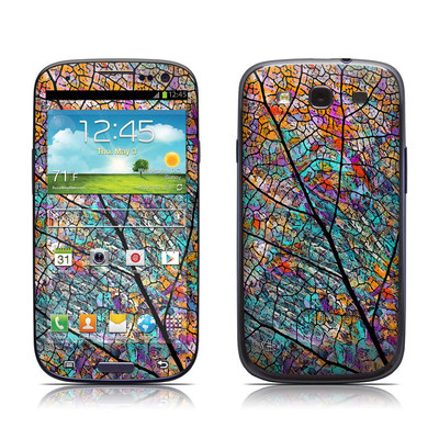 Samsung Galaxy S III Skin - Stained Aspen