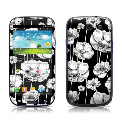 Samsung Galaxy S III Skin - Striped Blooms