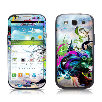 Samsung Galaxy S III Skin - Streaming Eye