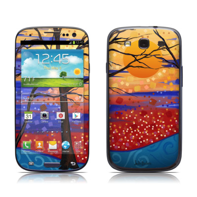 Samsung Galaxy S III Skin - Sunset Moon