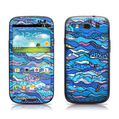 Samsung Galaxy S III Skin - The Blues
