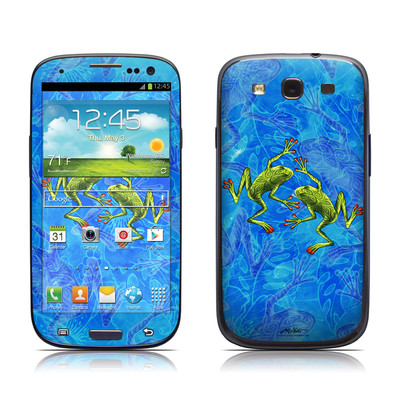 Samsung Galaxy S III Skin - Tiger Frogs