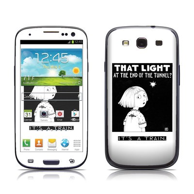 Samsung Galaxy S III Skin - Train Tunnel