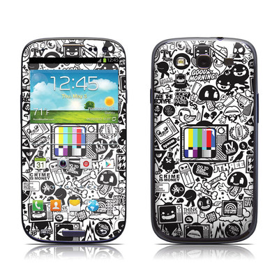 Samsung Galaxy S III Skin - TV Kills Everything