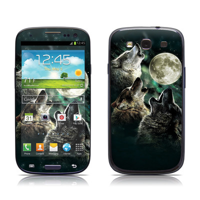 Samsung Galaxy S III Skin - Three Wolf Moon