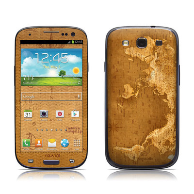 Samsung Galaxy S III Skin - Upside Down Map