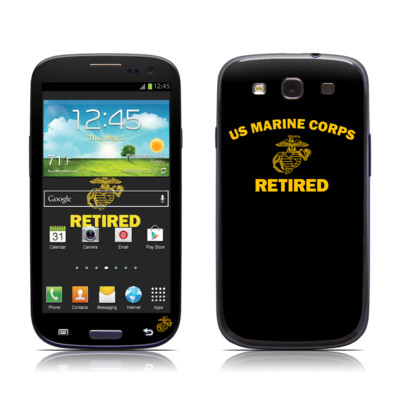 Samsung Galaxy S III Skin - USMC Retired