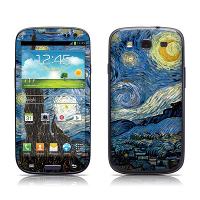 Samsung Galaxy S III Skin - Starry Night