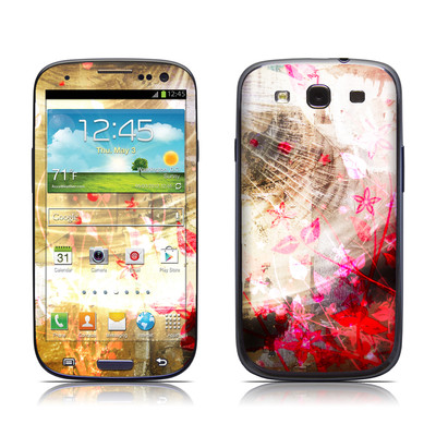 Samsung Galaxy S III Skin - Woodflower