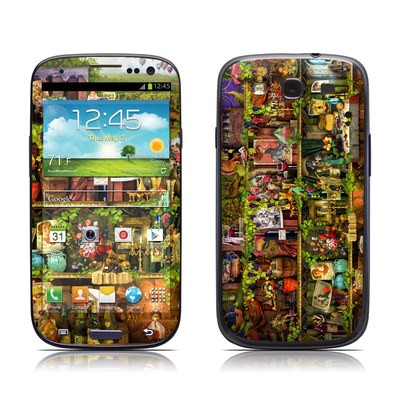 Samsung Galaxy S III Skin - Wine Shelf