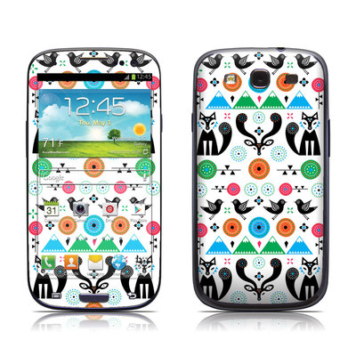 Samsung Galaxy S III Skin - Winter Forest