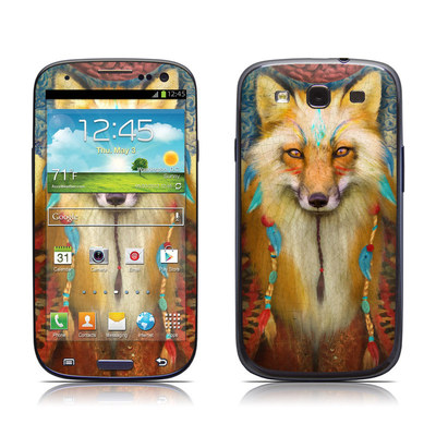 Samsung Galaxy S III Skin - Wise Fox